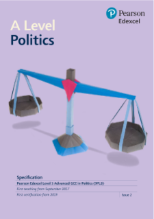 A level Politics 2017 specification